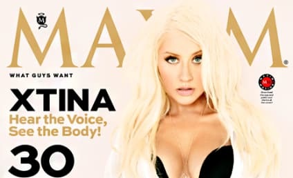 Christina Aguilera Maxim Photos: Slimmed-Down Star Shows Off Figure in Lingerie, Underwear
