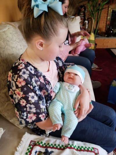 Leah Leann Shirley Prepares for Big Sisterhood