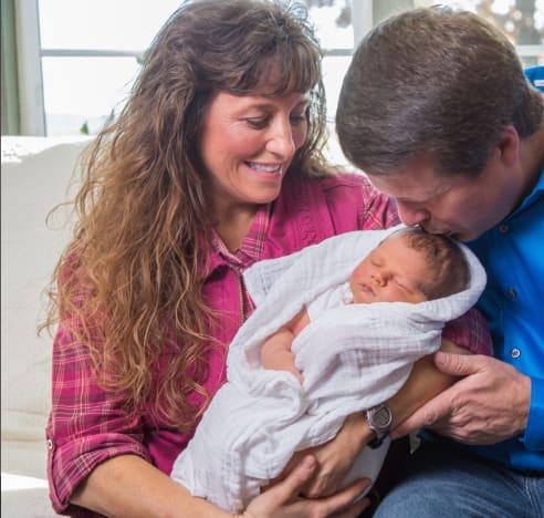 Michelle, Jim Bob, Baby