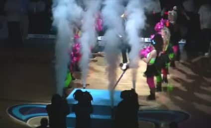 Will Ferrell Introduces Starting Lineups for Hornets/Bulls Game