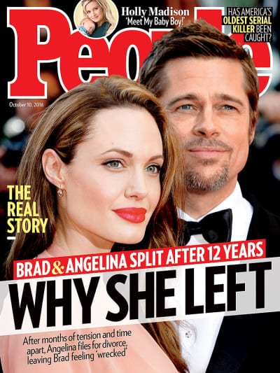 Angelina Jolie and Brad Pitt Cover