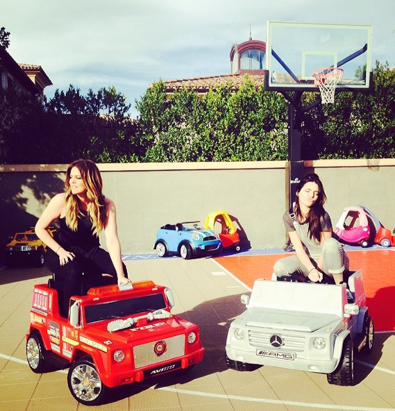Khloe and Kendall Ride Dirty
