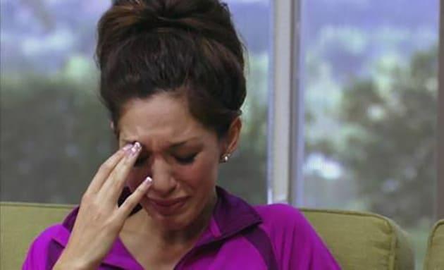 Farrah Cryin'