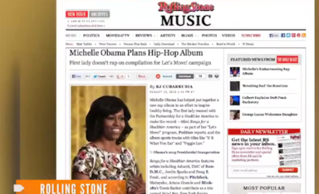 Michelle Obama Hip-Hop Album