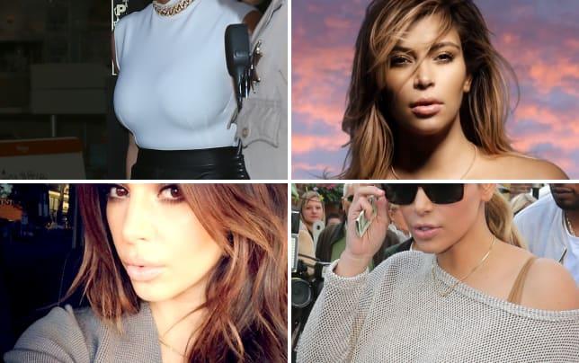 Kim kardashian profile pic