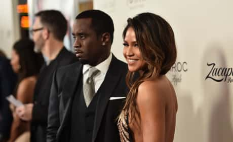 Cassie with Diddy
