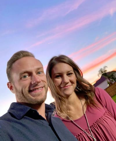 Adam and Danielle Busby, Sunset