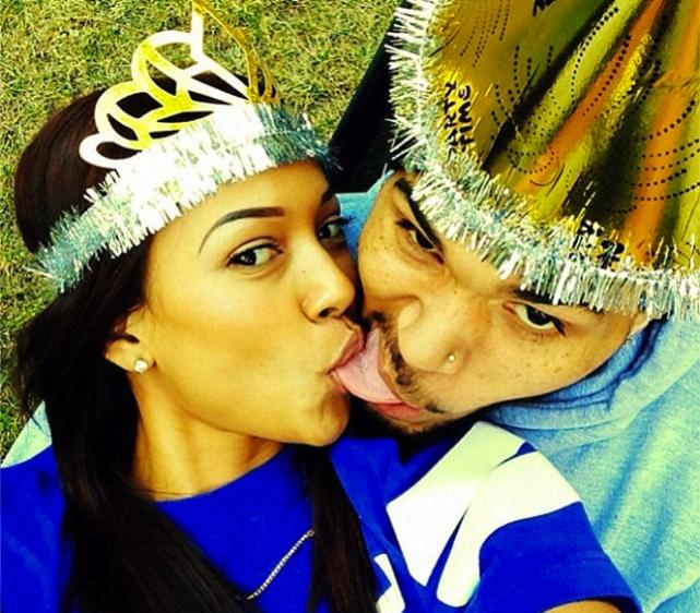 Karrueche Tran, Chris Brown Selfie