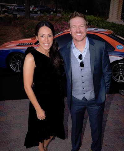 Chip Gaines and Joanna Gaines Arrive