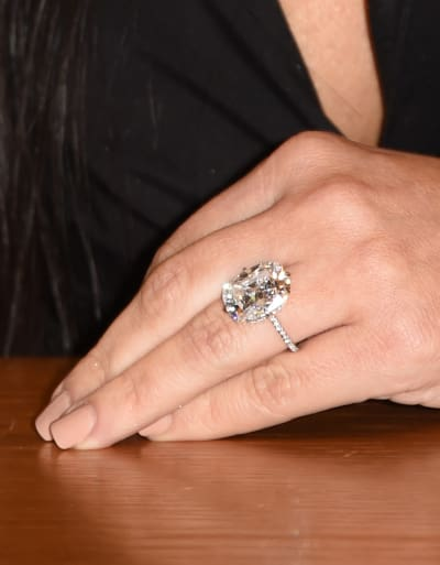 Kanye West Buys Kim Kardashian ANOTHER Giant Diamond Ring The