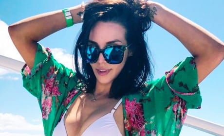 Scheana Shay on a Boat