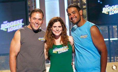 Rachel Frederickson, David Brown and Bobby Saleem