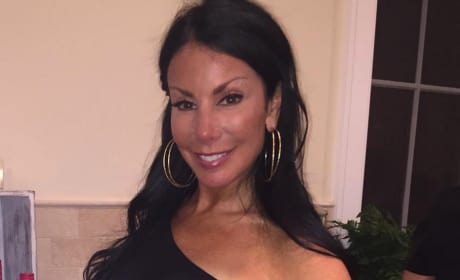 Danielle Staub with Vodka