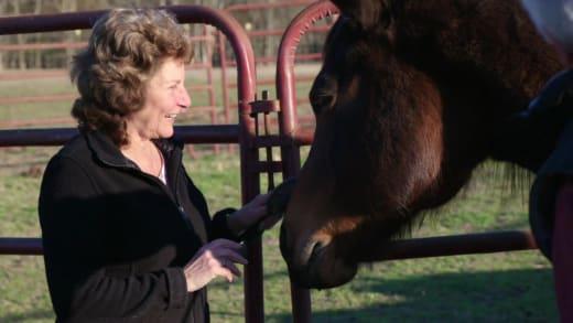 Betty Gibbs hopes Brandon and Julia will delight in farm labor