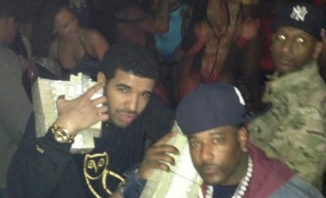 Drake at the Strip Club