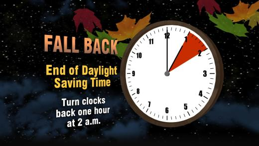 Turn the Clocks Back