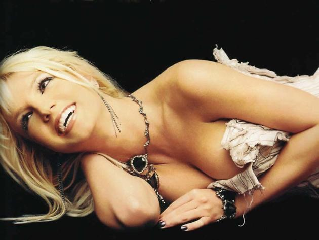 Britney Spears Cleavage Photograph