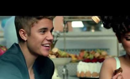 """Justin Bieber Juggles """"Macarons"""" With Girl, Tells Fans to #UNLOCKTHEDREAM"""