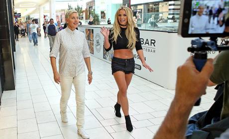 Ellen and Britney