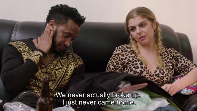 """We never actually broke up"""