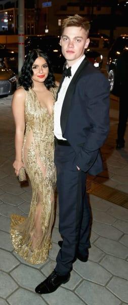 Ariel Winter with Boyfriend Levi Meaden