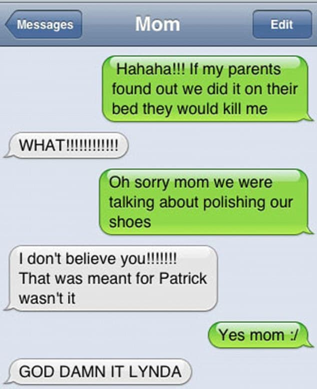 Speak Quotes And Page Numbers: 31 Hilariously Bad Texts Sent To The Wrong Number