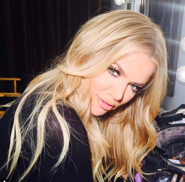 Khloe Kardashian With Blonde Hair The Hollywood Gossip