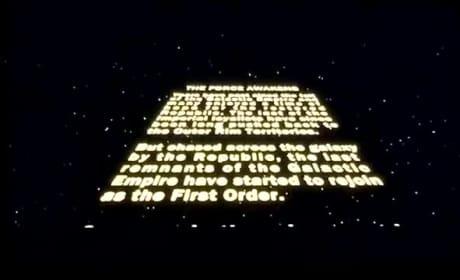 Star Wars: The Force Awakens Opening Scene