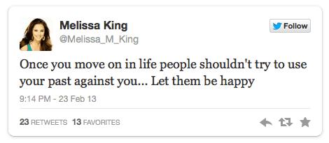M. King Tweet