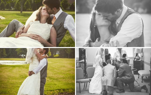 Jill duggar and derick dillard wedding pic