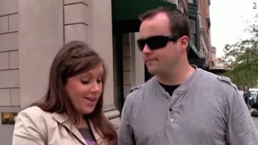 Anna and Josh Duggar in Happier Times