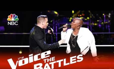 James McNeiece vs. Tonya Boyd-Cannon: The Voice Battle Round