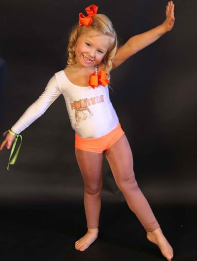 4-Year-Old Hooters Waitress
