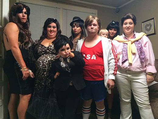 The Thompsons as the Kardashians