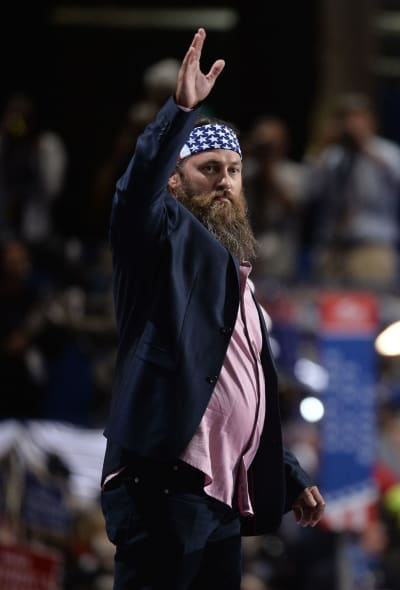 Willie Robertson at the Republican National Convention