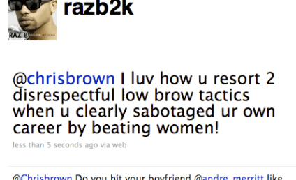 Chris Brown Taunts Raz B in Scathing, Homophobic Twitter Feud