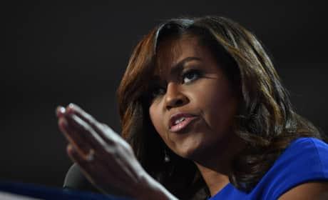 Michelle Obama DNC Photo