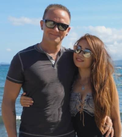 Josh and Aika, Beach Pic