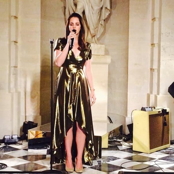Lana Del Rey Performs for Kimye