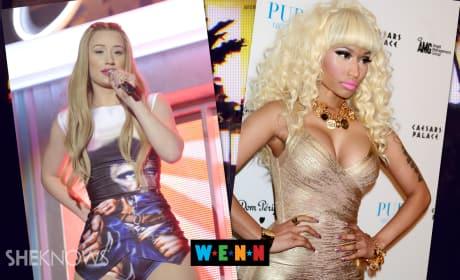 Iggy Azalea BLASTS Nicki Minaj Fans
