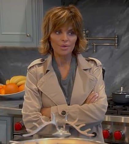 Lisa Rinna in a Kitchen