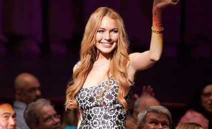 Lindsay Lohan on Glee: First-Look Photos!
