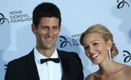 Novak Djokovic and Jelena Ristic: Married!