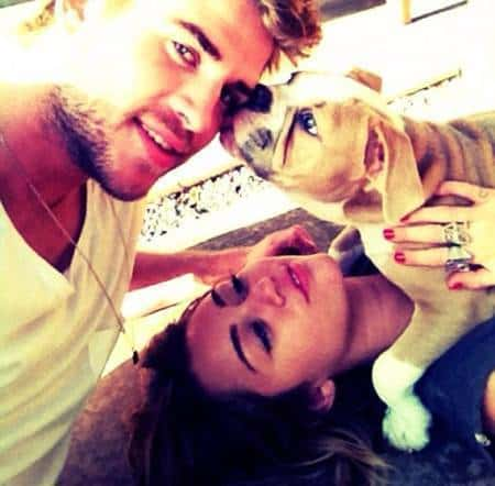 Miley Cyrus Twitter Picture