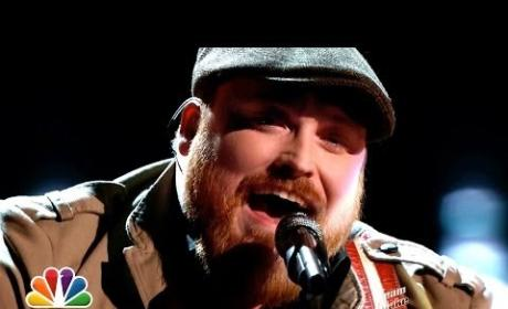 "Austin Jenckes: ""She Talks to Angels"" - The Voice"