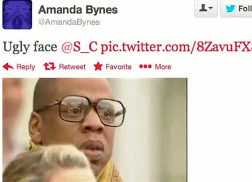 Bynes Tweet Re: Jay Z