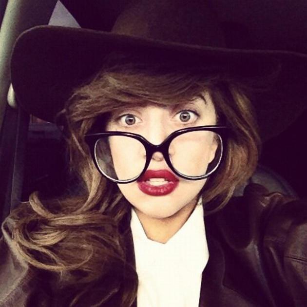 Lady Gaga Insta Gram Photo
