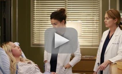 Grey's Anatomy Season 12 Episode 12 Recap: She's a Screamer!