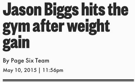 Jason Biggs Weight Gain Pic