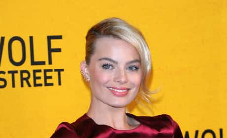 Margot Robbie at Wolf of Wall Street Premiere